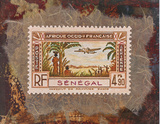 Senegal Stamp