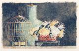 Still Life W/Golden Birdcage