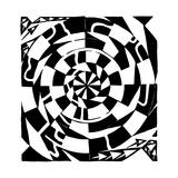 A Strange Swirly Maze Spin