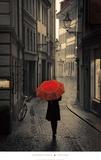 Red Rain Reproduction d'art par Stefano Corso