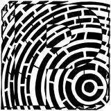 Maze of Uppercase P