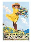 Western Australia  Flower Girl c1936
