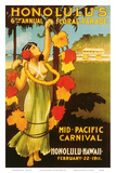Mid Pacific Carnival  6th Floral Parade c1911