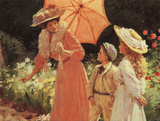 A Lady With Parasol