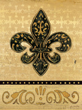 Golden Fleur De Lis II
