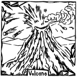 V is for Volcano Maze