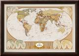 World Antique Map