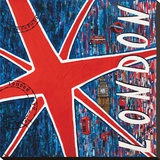 Londres Tableau sur toile par Sophie Wozniak