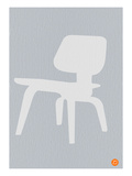 Eames White Plywood Chair