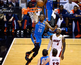 Miami  FL - June 17: Kevin Durant and LeBron James