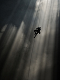 A Climber Ascends Loong Con