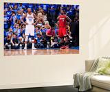 Oklahoma City  OK - June 12: LeBron James and Kevin Durant