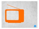 Orange Tv Vintage