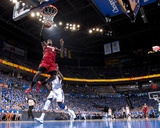 Oklahoma City  OK - June 12: LeBron James