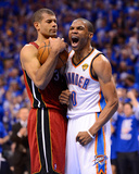 Oklahoma City  OK - June 12: Russell Westbrook and Shane Battier