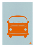 Orange Vw Bus