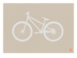 Bicycle Brown Poster