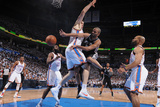 Oklahoma City  OK - June 6: Tony Parker and Nick Collison
