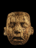 An Aztec Tiny Pine Mask Was Discovered in Offering 126