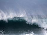 Waves and Spray Off Santa Maria  Island Sal  Cape Verde  Atlantic Ocean  Africa