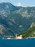 Gospa Od Skrpjela (Our Lady of the Rock) Island  Bay of Kotor  UNESCO World Heritage Site  Monteneg