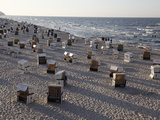 Beach at the Baltic Sea Spa of Heringsdorf  Usedom  Mecklenburg-Western Pomerania  Germany  Europe