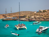 Blue Lagoon  Comino  Malta  Mediterranean  Europe