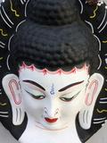 Buddha Head  Paris  France  Europe