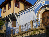 Traditional Houses  Old Town  Plovdiv  Bulgaria  Europe