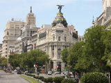 Metropolis Building  Madrid  Spain  Europe