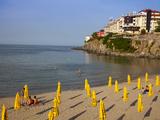 Front Beach on the Black Sea  Sozopol  Bulgaria  Europe