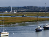 Salt Marshes  Hurst Spit  Keyhaven  Hampshire  England  United Kingdom  Europe
