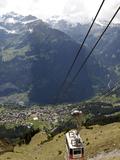 Bernese Oberland  Swiss Alps  Switzerland  Europe