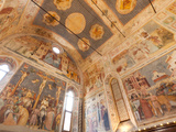 Altichiero's Frescoes in the St George's Oratory  Padua  Veneto  Italy  Europe