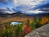 Heart Lake and Algonquin and Wright Peaks