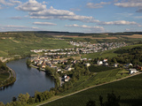 Village of Machtum  Mosel Valley  Luxembourg  Europe
