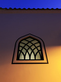 Dusk Falls on a Mosque Window in the Centre of the Old City of Antayla  Anatolia  Turkey  Asia Mino