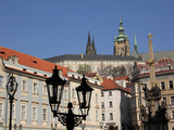 Lesser Town and Prague Castle  UNESCO World Heritage Site  Prague  Czech Republic  Europe
