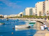 Sliema  Malta  Mediterranean  Europe
