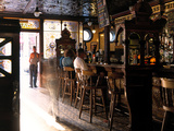 Inside the Crown Bar in Belfast