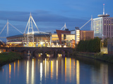 Millennium Stadium  Cardiff  South Wales  Wales  United Kingdom  Europe
