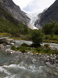 Briksdalsbreen  Jostedalsbreen  Sogn Og Fjordane  Norway  Scandinavia  Europe
