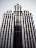 The Woolworth Building on Broadway and Park Place