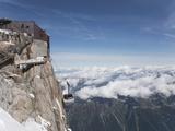 Aiguille Du Midi  Mont Blanc  Haute Savoie  French Alps  France  Europe