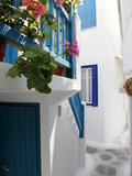 Mykonos Town  Mykonos  Cyclades Islands  Greek Islands  Greece  Europe