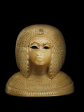 Canopic Jar Lid With the Image of Queen Kiya  Akhenaten's Second Wife
