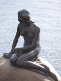 Little Mermaid  Copenhagen  Denmark  Scandinavia  Europe