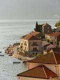 City View of Perast  Bay of Kotor  UNESCO World Heritage Site  Montenegro  Europe