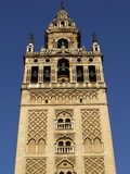 Giralda  the Seville Cathedral Bell Tower  Formerly a Minaret  UNESCO World Heritage Site  Seville
