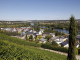 Village of Bech-Kleinmacher  Mosel Valley  Luxembourg  Europe